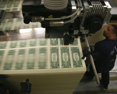 dollars-printing