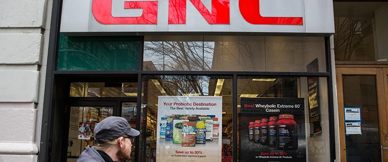 GNC store closings